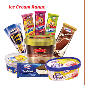 Unikai Ice Cream Range