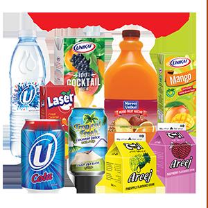 Unikai Juices & Drinks Range