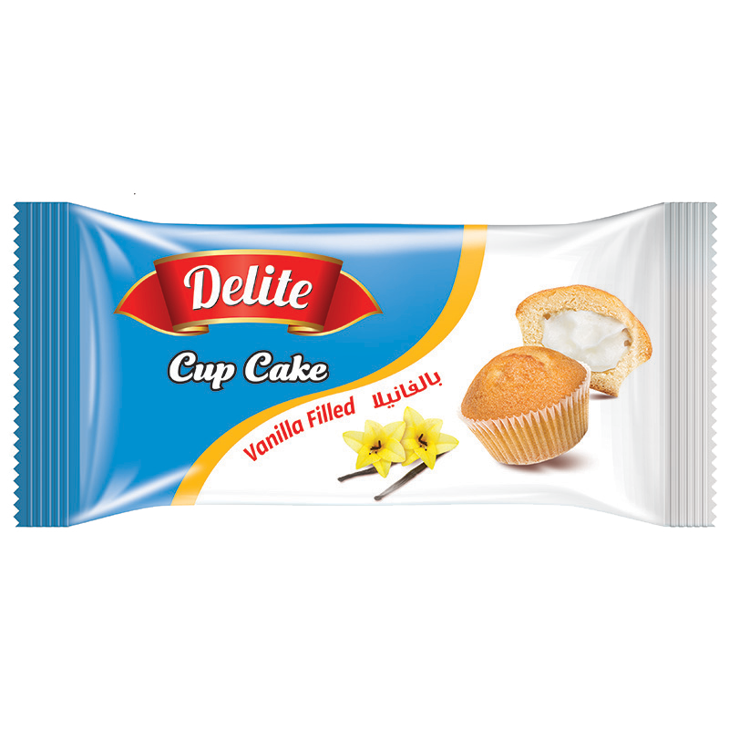 Cup Cake – Vanilla Filled